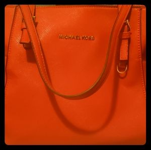 Michael Kors Saffiano Leather Tote Bag  ☆MINT!